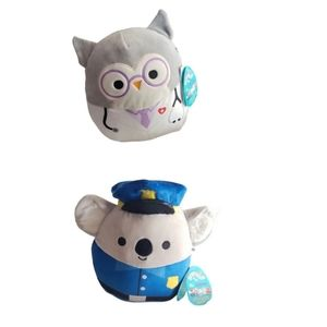 """Squishmallows 8"""" Hero's collection Lot ×2"""